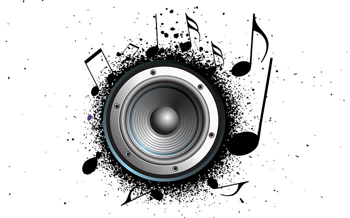 House Music Speaker Art